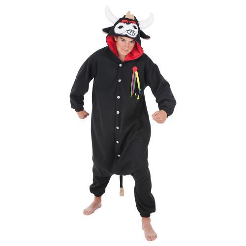 Costume adulte Bull drôle T-Xl