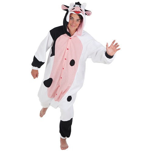 Funny costume adulte vache T-Xl