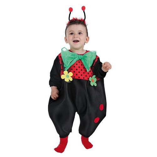 Costume baby coccinelle (0 à 12 mois)