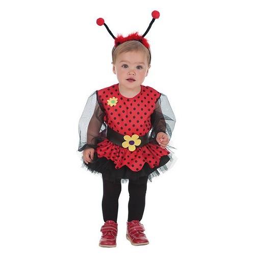 Costume bébé coccinelle (0 à 12 mois)
