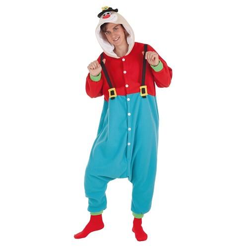 Adulte de Clown drôle costume t-l