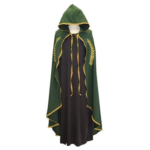 Marian or brodé vert de couche T-Xl