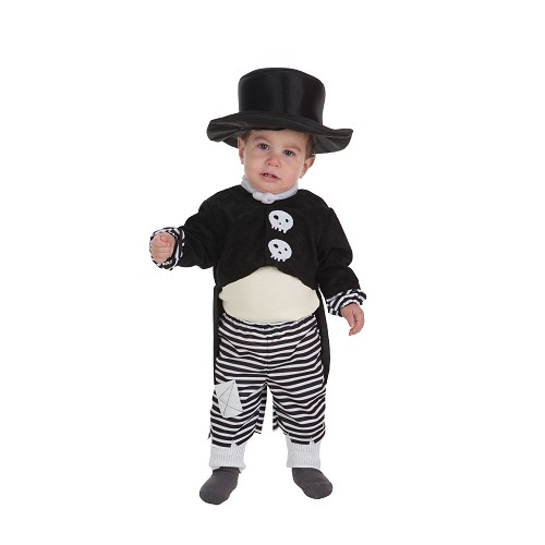 Costume bébé garçon Skelet (0-12 mois)
