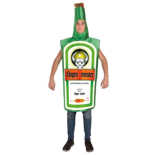 Disfraz Adulto Botella Jagen Master