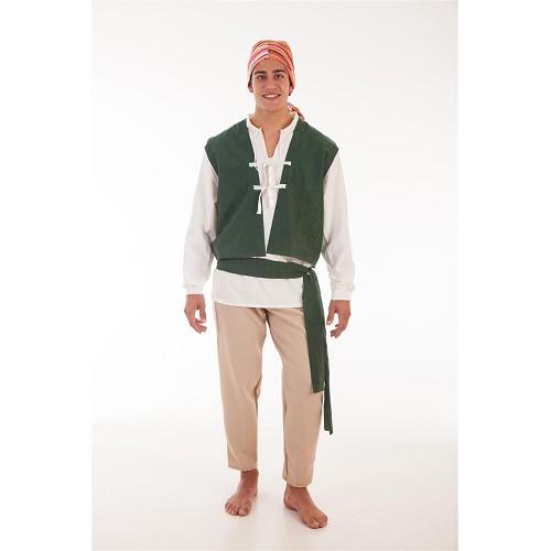 Costume adulte de Carlos paysan