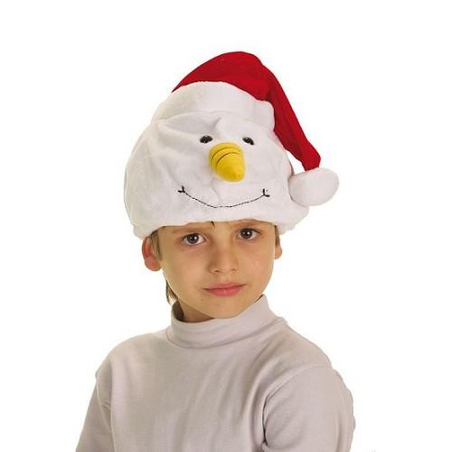Chapeau de neige bonhomme de neige