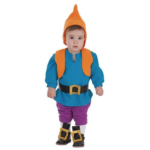 Costume bébé nain bleu (0 à 12 mois)