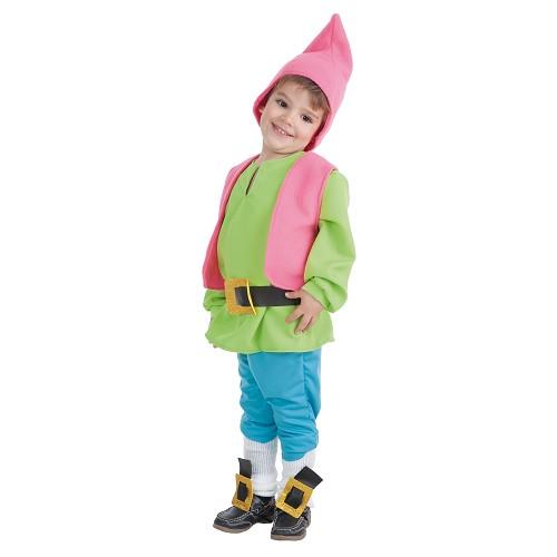 Costume bébé nain vert (0,12 mois)