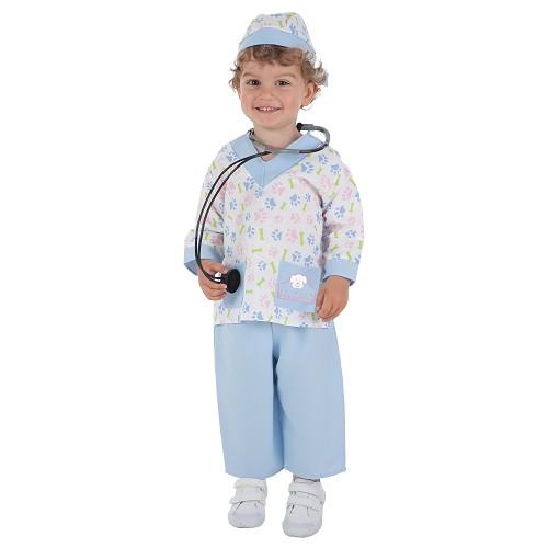Vétérinaire de costume bébé (0-12 mois)