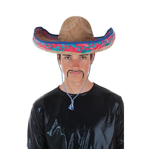 Sopmbrero mexicain paille