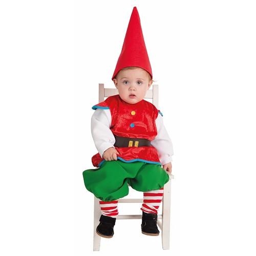 Costume bébé Gnome (0 à 12 mois)