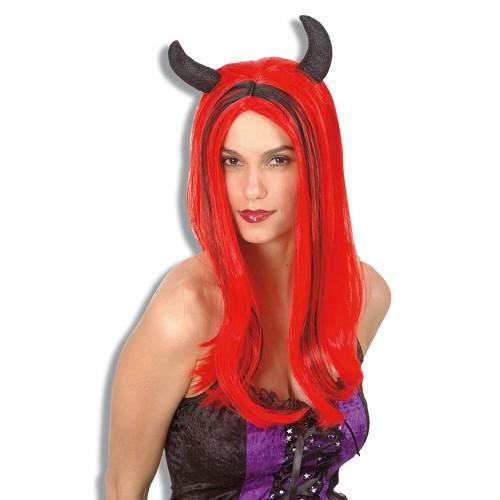 Crinière de perruque diable