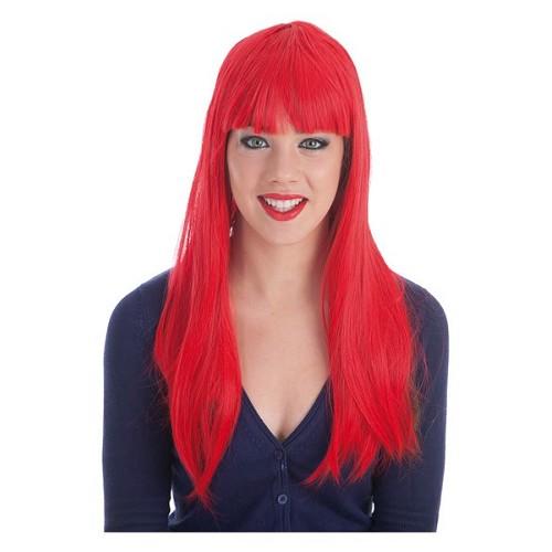 Perruque cheveux frange