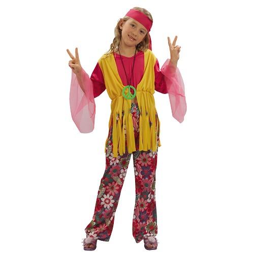 Jeune fille hippie