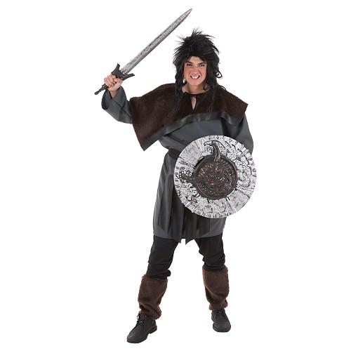 Bouclier et épée Guerrero53x74 cm
