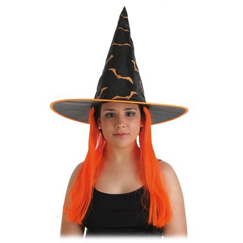 Chapeau avec cheveux Burja adulte