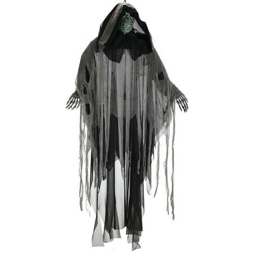 Squelette pendentif vert