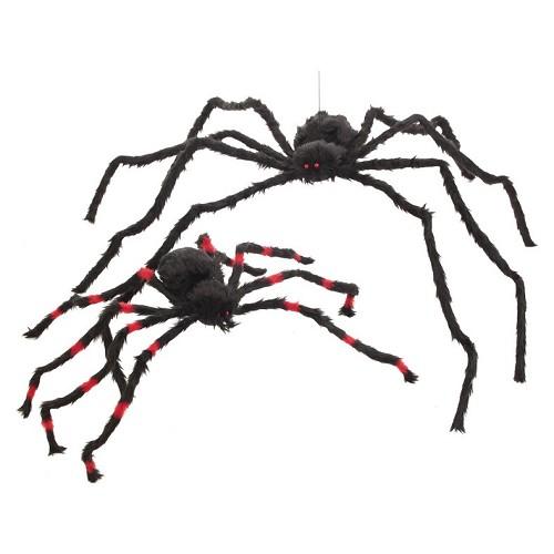 Araignée rayures rouge Med.