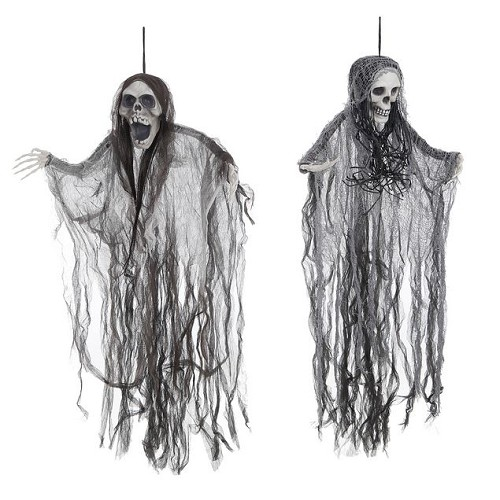 Crâne de pendentif effrayer 91 cm