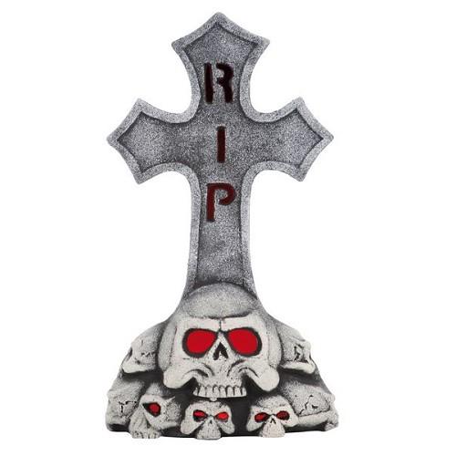 Lumière de pierre tombale Rip 53 cm