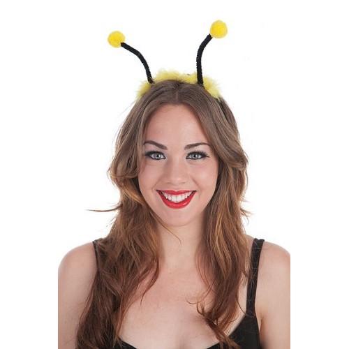 Antennes de bandeau jaunes