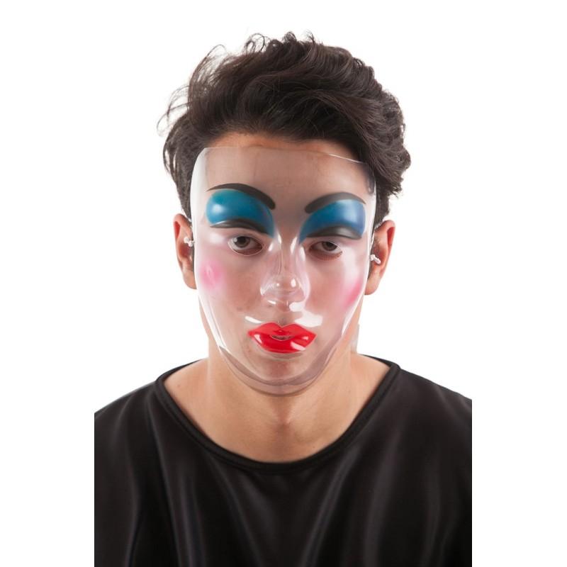 Groupe de masque à visière transparente