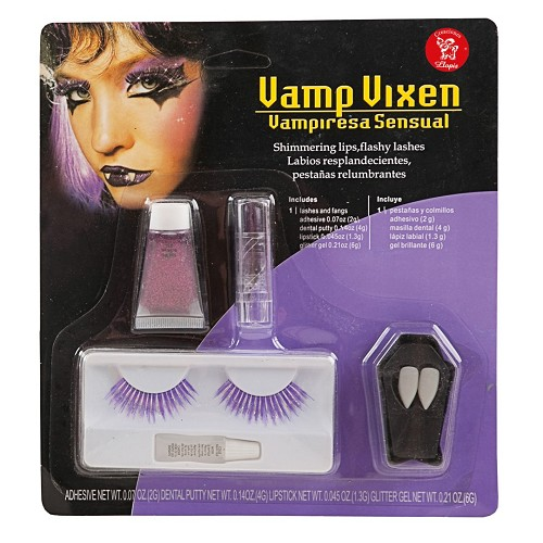 Vampira Cils maquillage en Septembre