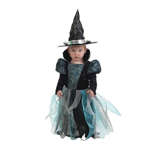 Costume sorcière bébé bleu (12 à 24 meses)