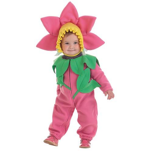Fleur de bébé costume (0 à 12 meses)