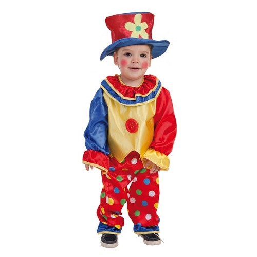 Costume de clown bébé Pepon (0 à 12 meses)
