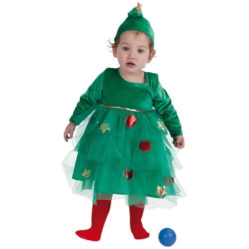 Arbre de bébé costume de Noël (0 à 12 meses)