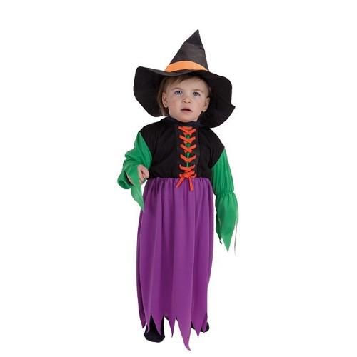 Costume sorcière bébé couleur (0 à 12 meses)