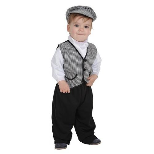 Costume bébé Chulapa corail T-Xs (1 a 2 años )