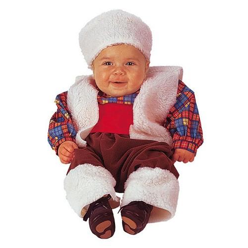 Costume bébé pasteur T-Xs (0 à 12 meses)