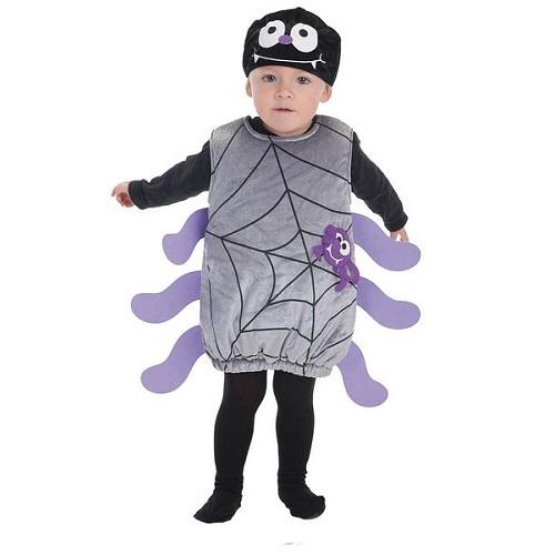 Costume de bébé peu araignée (0 a 12 meses)