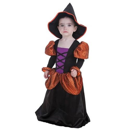 Costume sorcière bébé Simpatica (0 à 12 meses)