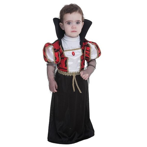 Costume de bébé gothique Vampira (0 à 12 meses)