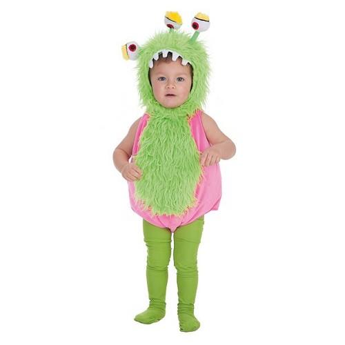 Costume de bébé monstre Tri-oeil (0 à 12 meses)