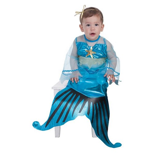 Costume petite sirène bébé (0 à 12 meses)
