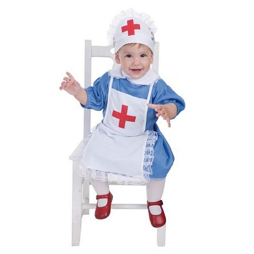Infirmière de costume bébé (0 à 12 meses)