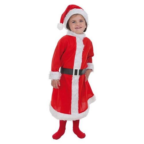 Costume taille S du nourrisson maman Noel (de 1 à 2 ans)