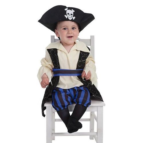 Costume bébé Buccaneer Brocade (0 à 12 meses)