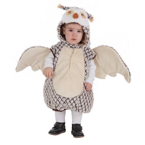 Chouette de costume bébé (0 à 12 meses)