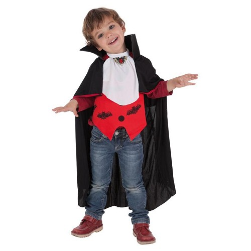 Costume enfant chauve-souris vampire