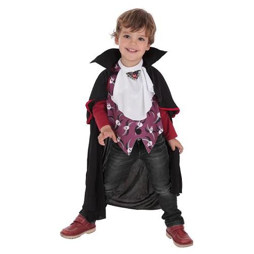 Costume de crânes de vampire enfant