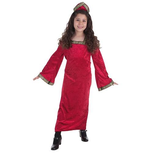 Costume enfant princesse médiévale