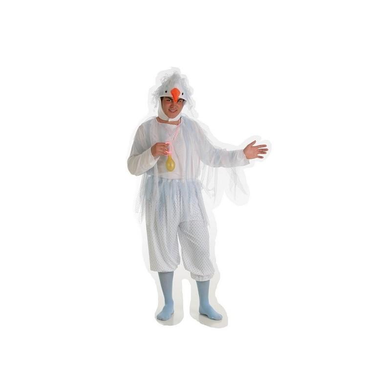 Costume d'enfant de la cigogne