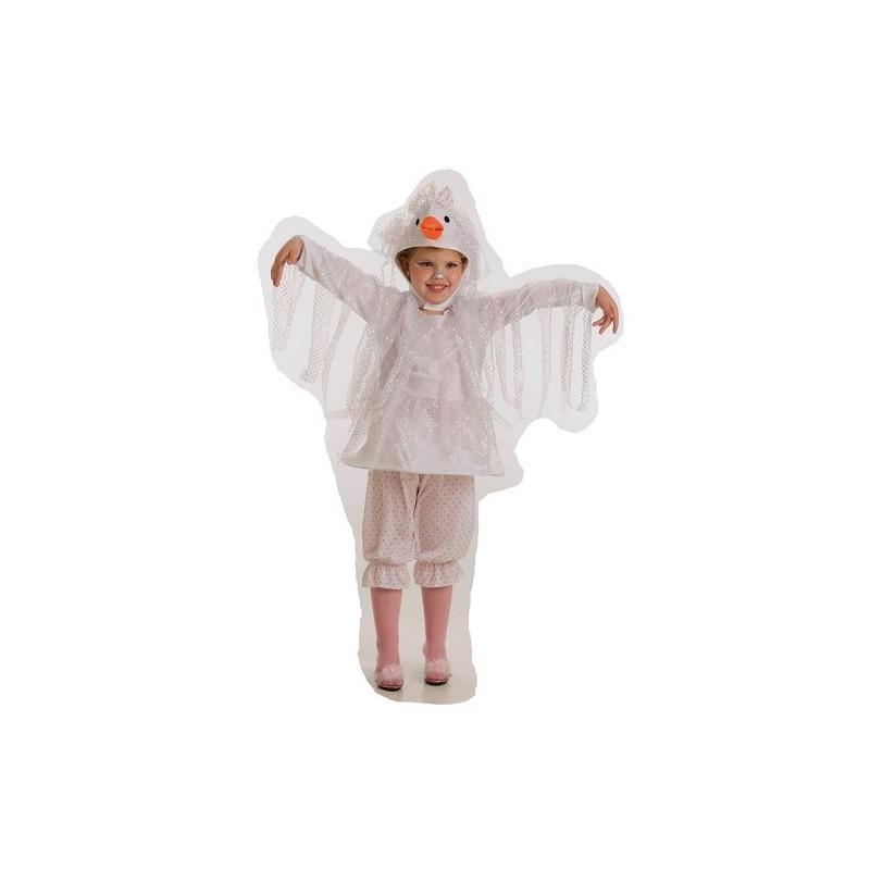Costume de fille de cigogne
