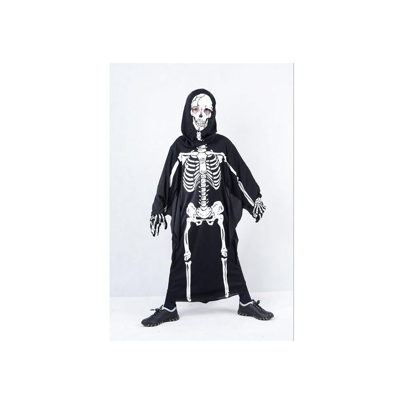 Tunique enfant costume, squelette - Md