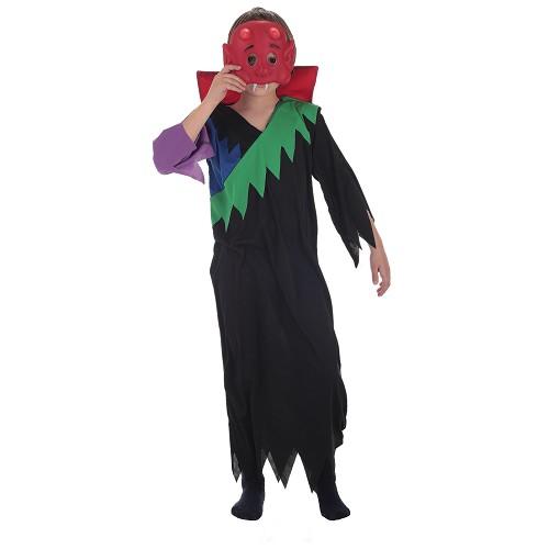 Costume enfant tunique multicolore
